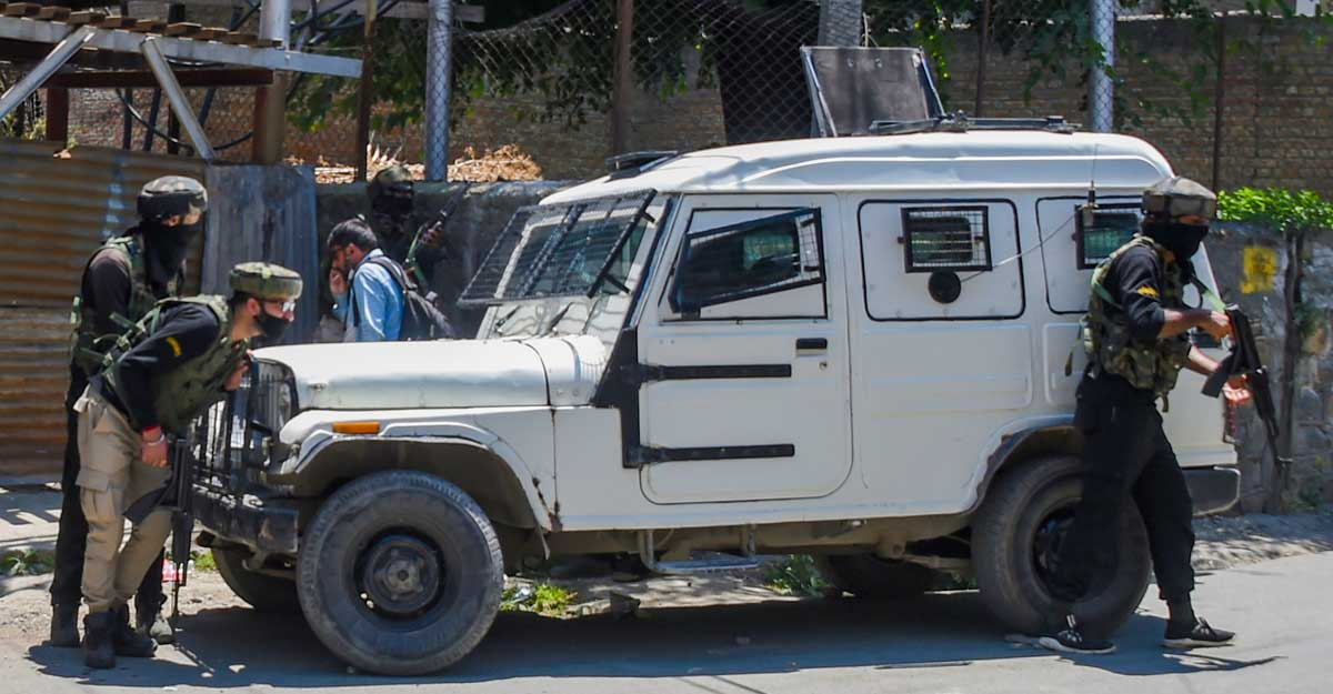 Four militants killed in encounter in J&K, one surrenders