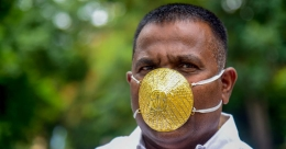 Pune man shells out Rs 2.89 lakh for gold mask