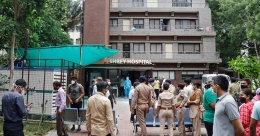 Eight COVID-19 patients killed in fire at Ahmedabad hospital