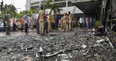 10 patients killed in fire at Vijayawada hotel converted as COVID care facility