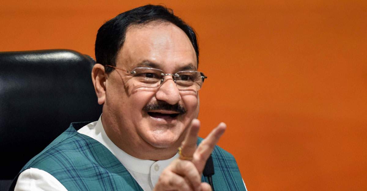 BJP president JP Nadda announces new team of party office bearers