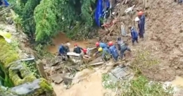 National-level woman cricketer killed, 3 missing as landslide buries homes in Meghalaya