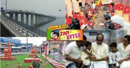 Tiny Bytes: Vidyarambham, World's longest bridge and more