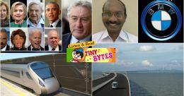 Tiny Bytes: US letter bombs, ISRO man mission,  world's longest sea bridge and more