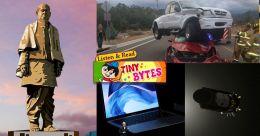 Tiny Bytes: Tallest statue, Kepler telescope, Apple's new iPad Pro and more
