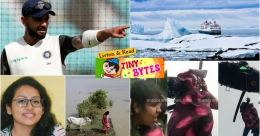 Tiny Bytes: Kohli writes to Rajasthan minister, Ozone hole over Antarctica and more