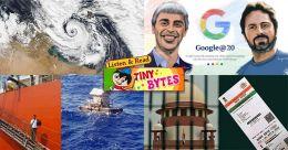 Tiny Bytes: Aadhaar verdict, Google's birthday, Medicane, and more