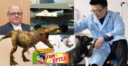 Tiny Bytes: Sherlock Dog clone, Scotty the T rex, and more