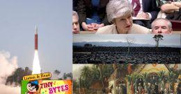 Tiny Bytes | Mission Shakti, Brexit deal or no deal, Nirav Modi's art collection auction ad more