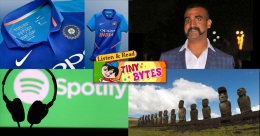 Tiny Bytes | Abhinandan comes home, Spotify launches in India and more
