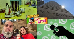 Tiny Bytes: Chandrayaan-2, Dhoni's superfan Chacha Chicago and more