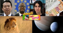 Tiny Bytes: Nobel Peace prize, Indian lions death, exomoon and more