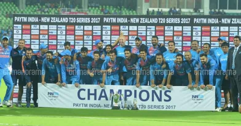 India-NZ T20 @ Greenfield: India clinch rain-hit thriller to seal series