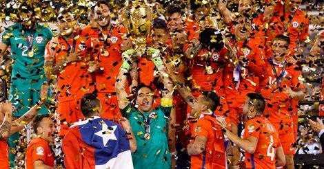 Chile retain title