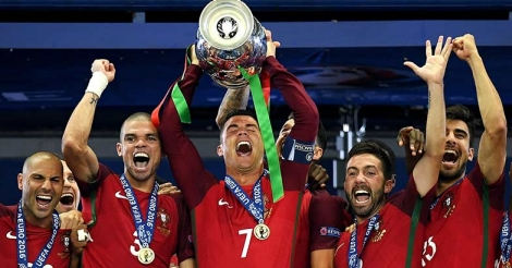 Portugal and Ronaldo's cup of joy