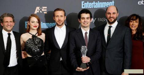 'La La Land' leads diverse Oscar nominations line-up with 14 nods