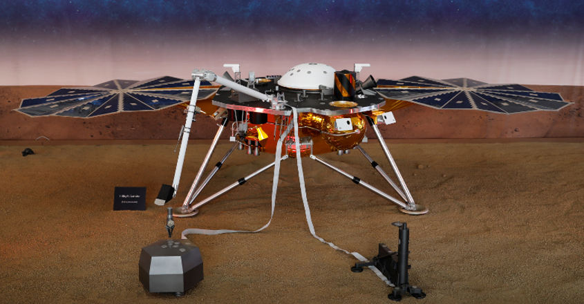NASA's InSight touches down on Mars