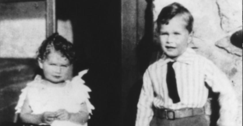 A childhood photo of Bush