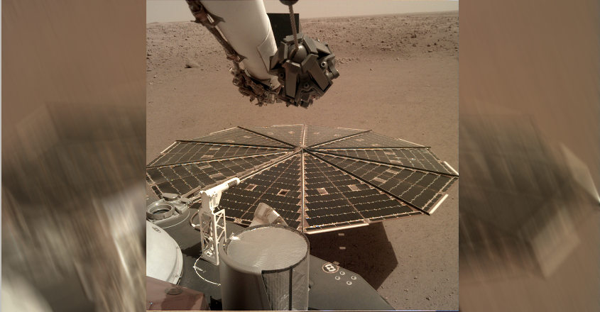 Hear the wind on Mars, NASA's InSight captures vibrations from the breeze