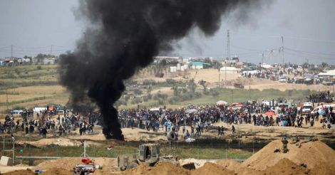 ISRAEL-PALESTINIANS-PROTESTS