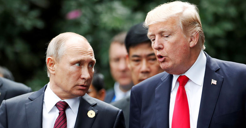 Trump lets off Putin casually at mystifying Helsinki Summit