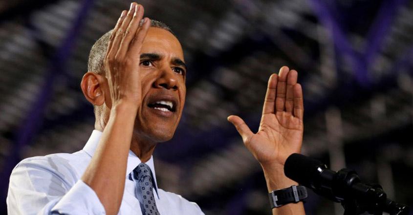 Obama slams Trump for abuse of power