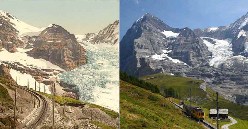 These pictures are proof: Climate change is for real, the Earth is warming up