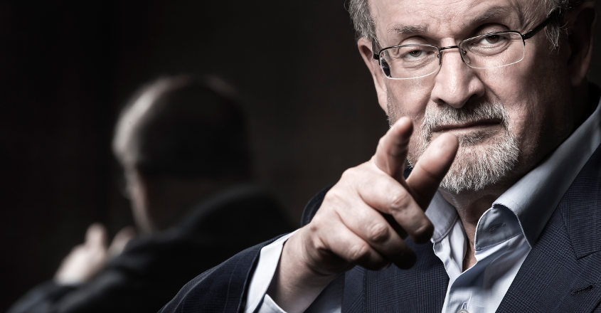 Salman Rushdie's 'Quichotte' shortlisted for Man Booker Prize