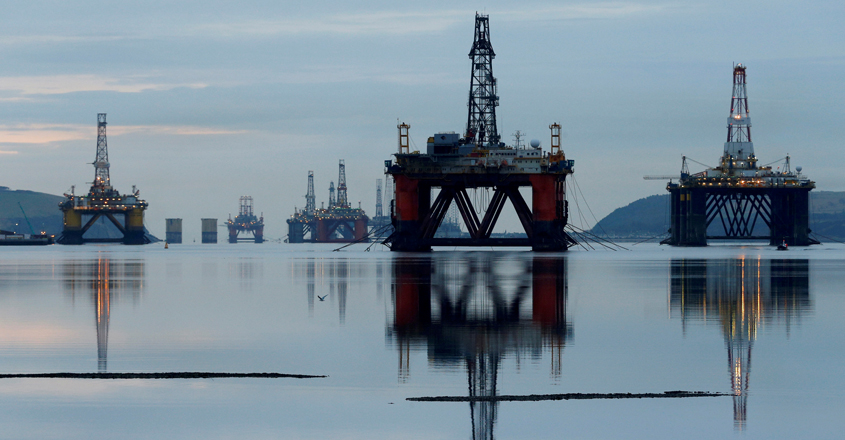 Oil prices plunge again amid supply glut, WTI crude down by 20%