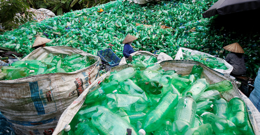 Plastic recycling a bigger bother than its use