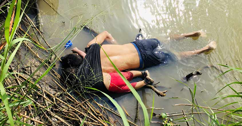 Photo of drowned migrants stirs outrage over Trump asylum clampdown