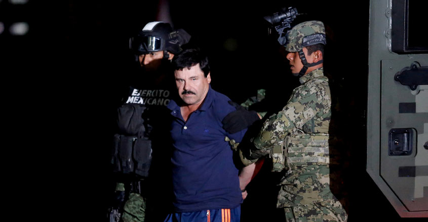 US judge blasts Mexican drug lord El Chapo's 'overwhelming evil,' imposes life sentence