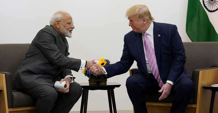 Modi, Trump likely to talk on Kashmir, trade issues on G7 sidelines