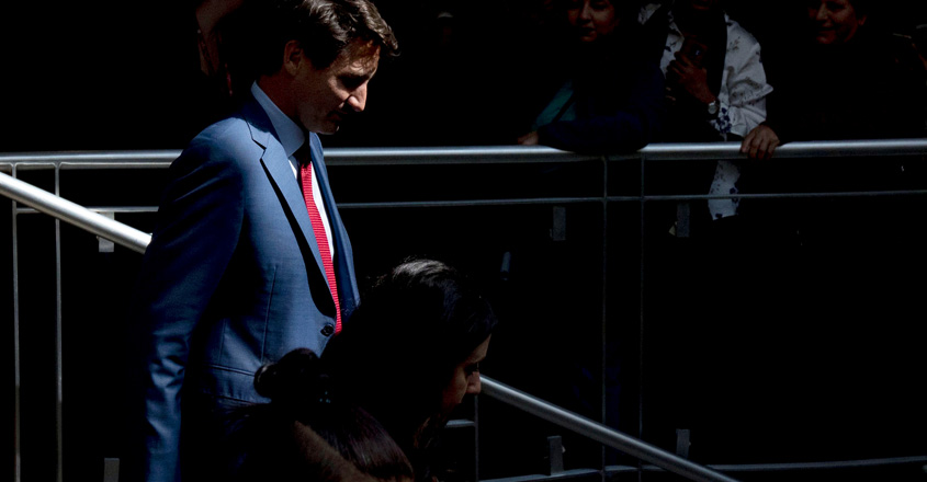 Trudeau on the back foot as Canada goes to vote