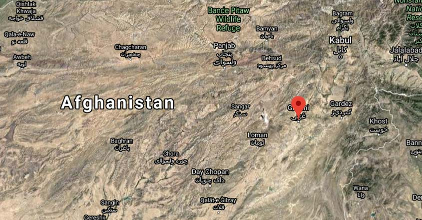 Plane crashes in eastern Afghanistan's Ghazni