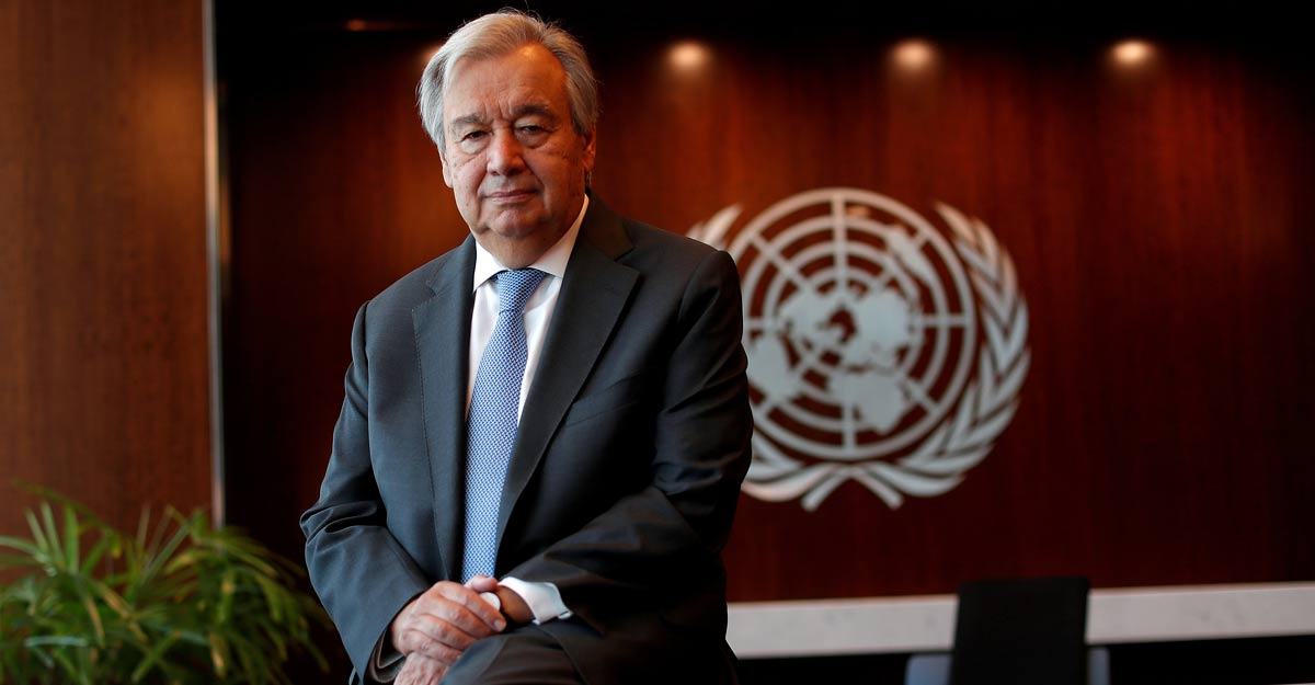 Divided world is failing COVID-19 test, says UN chief Antonio Guterres