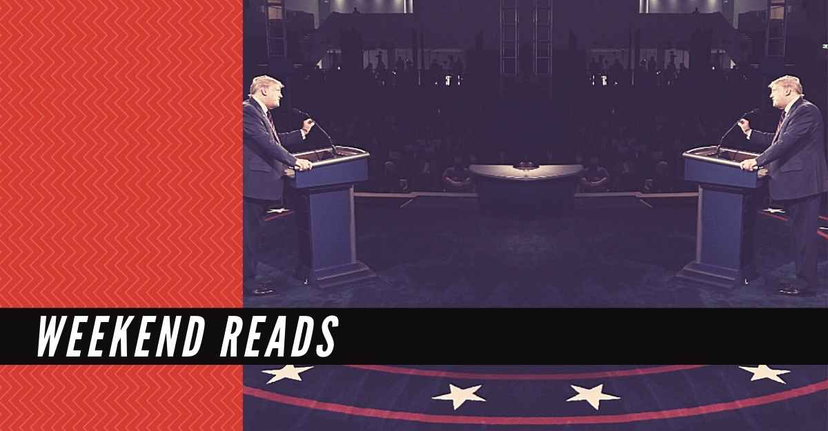 Weekend Reads: The only good thing to come out of Trump-Biden debate: A Meme