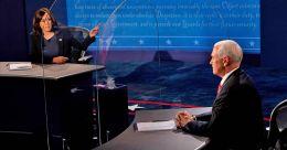 Harris, Pence clash over Trump's coronavirus record at US VP debate