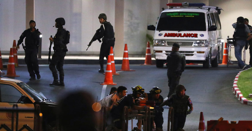 Thai soldier kills at least 17 in mass shooting, shares attack on Facebook