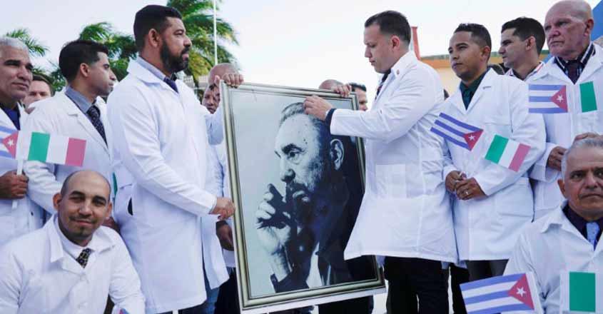 Cuba blasts US 'lies' over coronavirus medical help