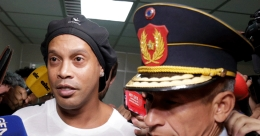 Ronaldinho loses appeal, to remain under house arrest