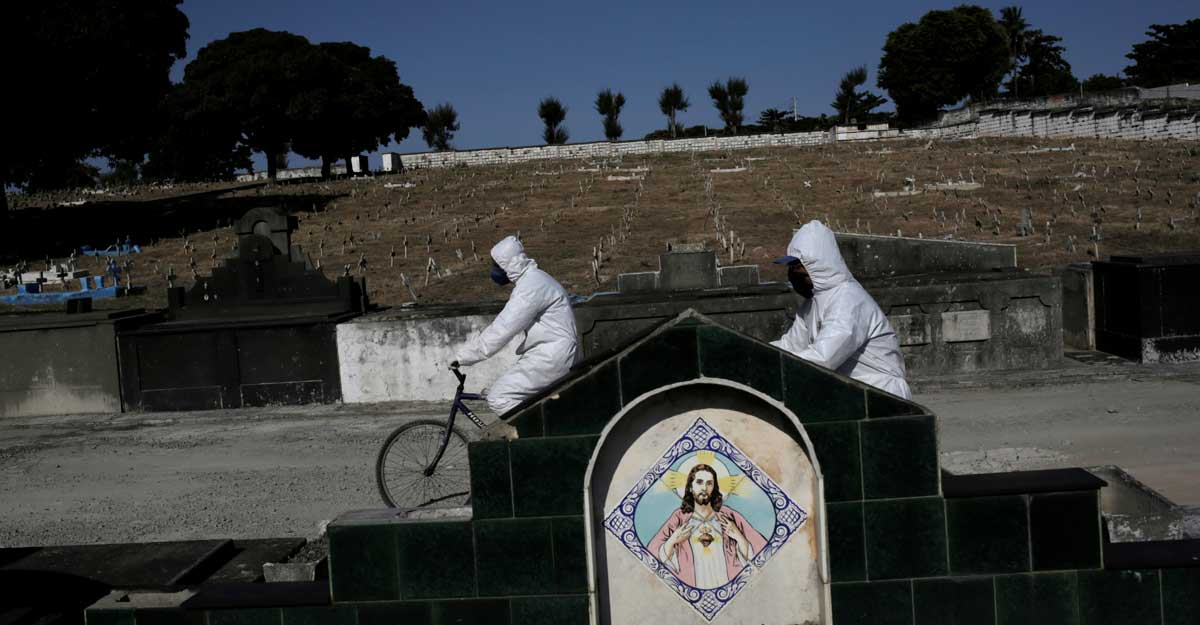 Brazil tops 1 million cases as coronavirus spreads inland