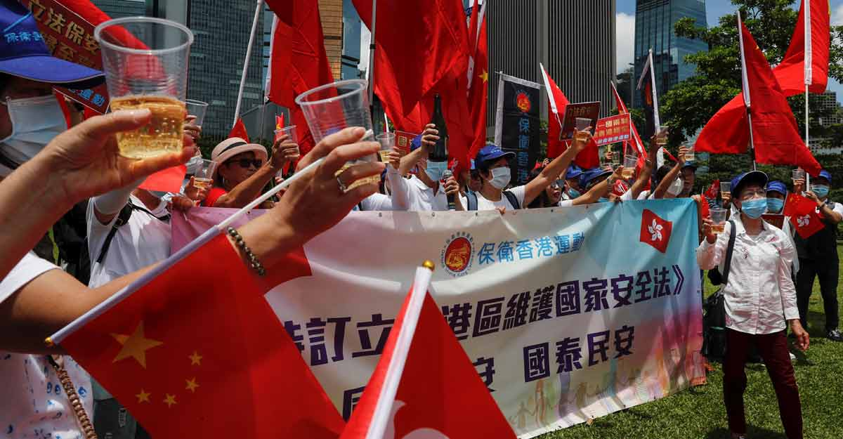 Sweeping powers for Beijing as China passes security law for Hong Kong