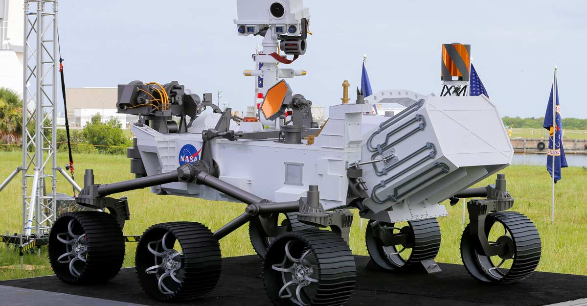 NASA launches new rover to search for signs of past Martian life