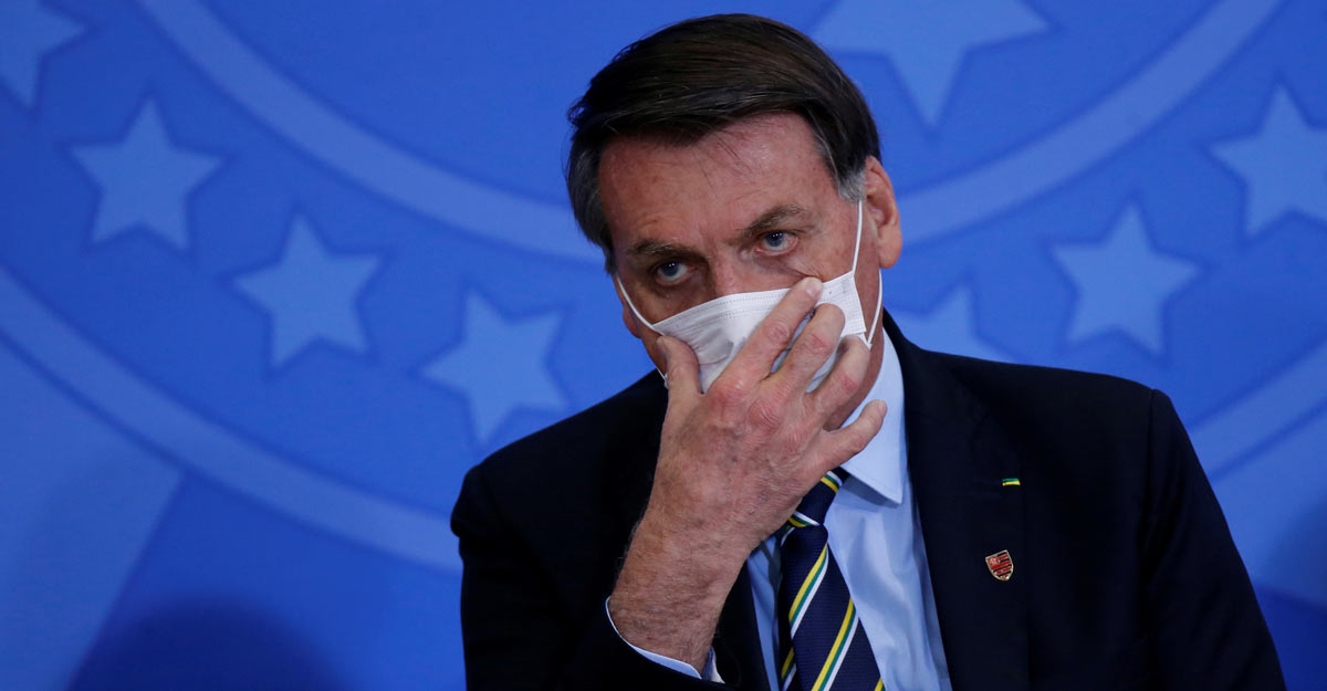 Brazil President Bolsonaro tests positive for coronavirus | World News |  Manroama English