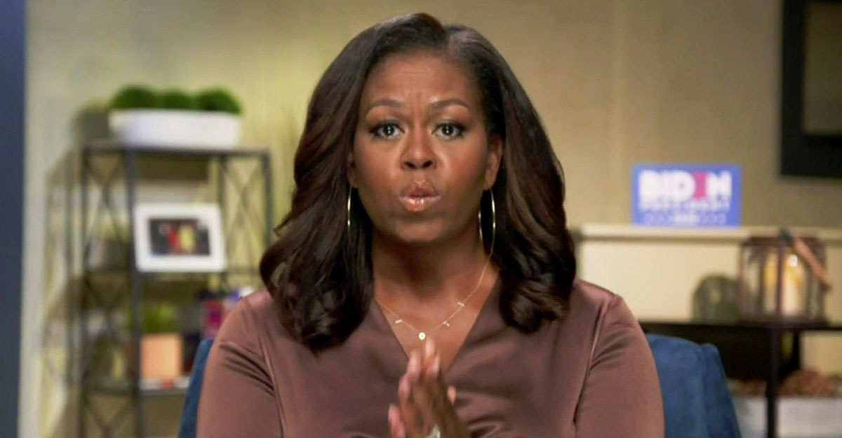 Michelle Obama launches scathing attack on Trump's leadership, says Biden will end the chaos