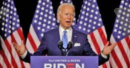 Joe Biden officially accepts Democratic nomination, vows to end 'season of darkness'