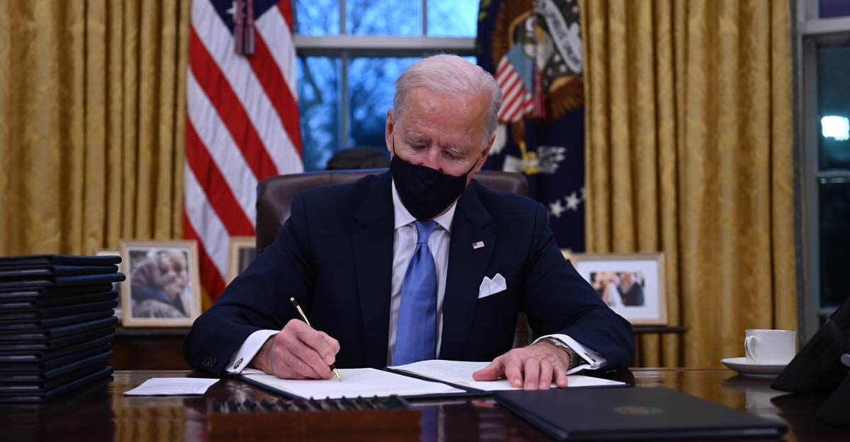 Prez Biden looks to galvanize COVID-19 fight, vaccinations as he takes office