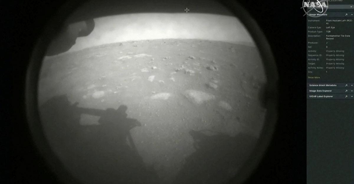 Touchdown! NASA's rover Perseverance makes historic Mars landing