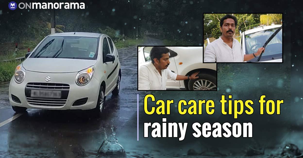 Car care tips for rainy season